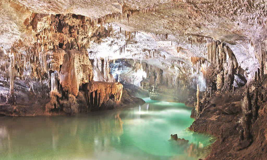 Libanon Grotten Van Jeita