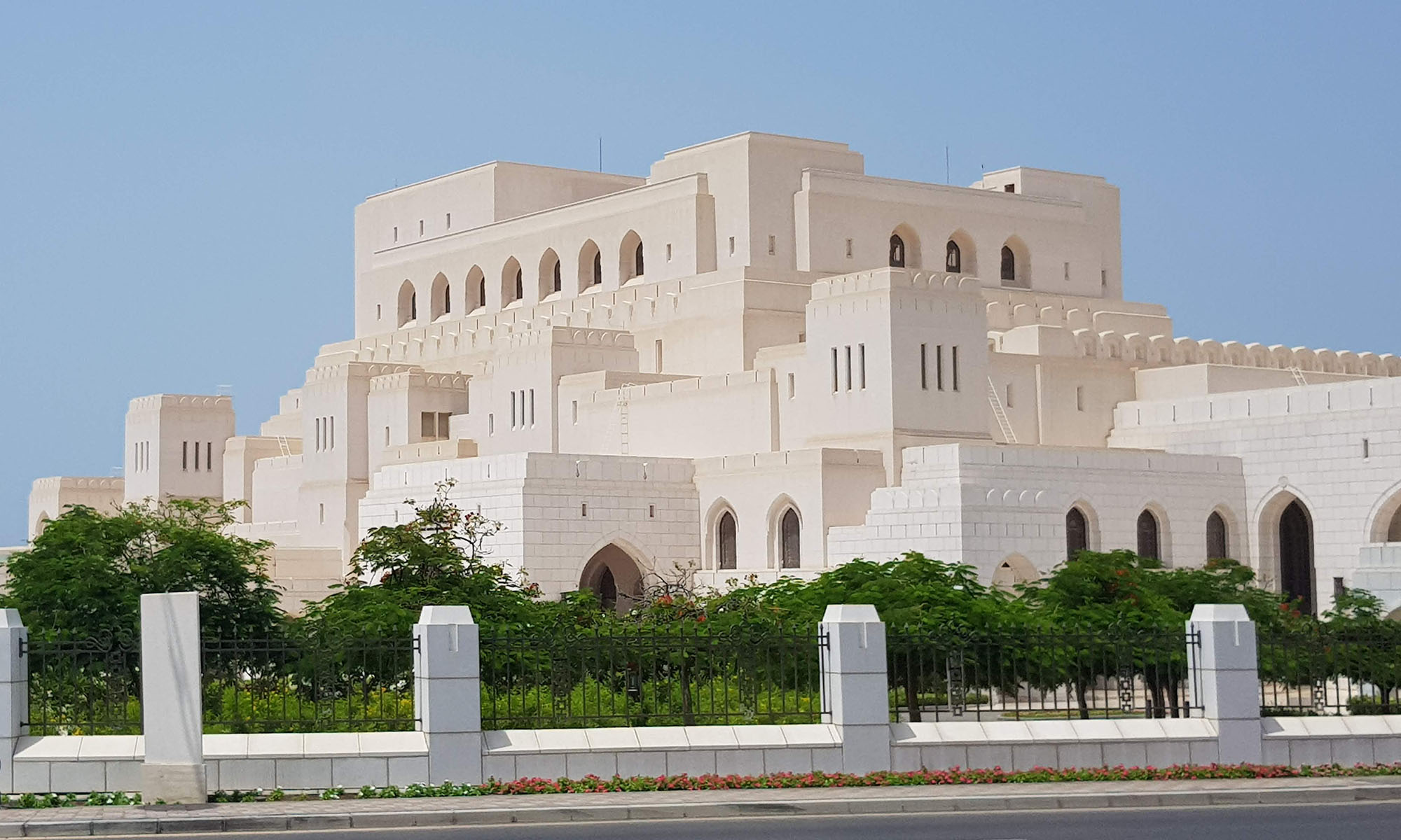 Oman Royal Opera House Muscat Buitenkant