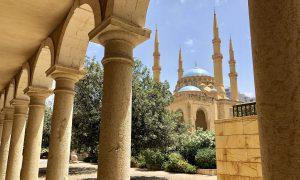 Libanon Beiroet Uitzicht Moskee