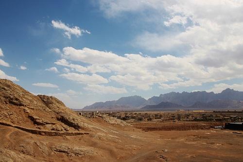 Karavanserai bij Yazd