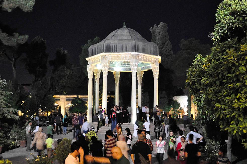 Shiraz, Tombe van Hafez