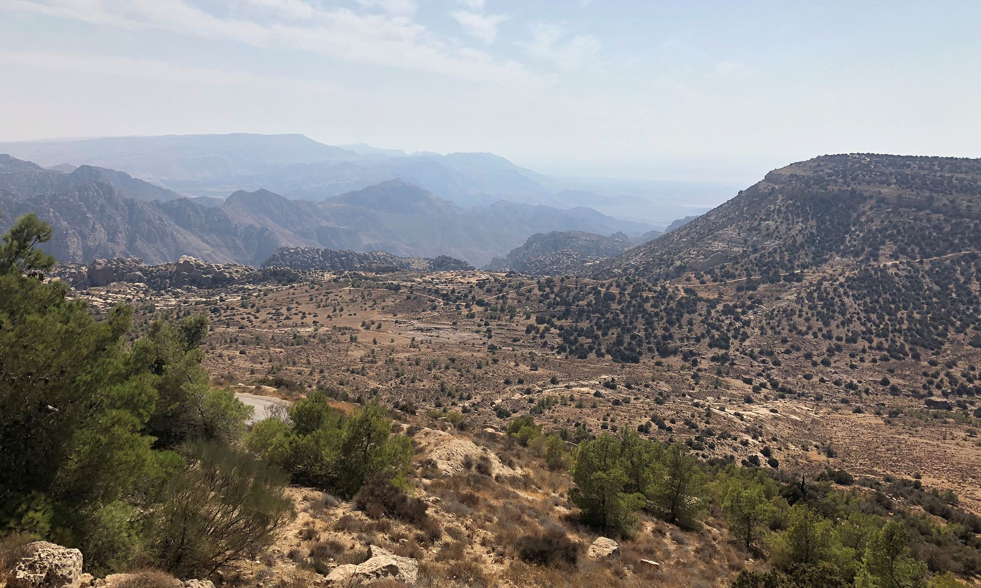 Jordanië Dana Natuurreservaat
