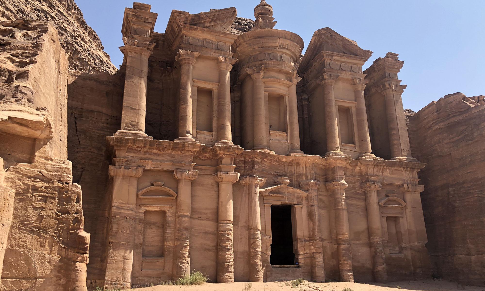 Jordanië Petra Klooster