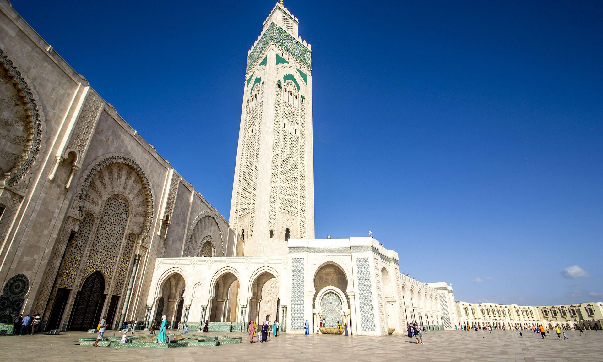 Marokko Casablanca Hassan II Moskee