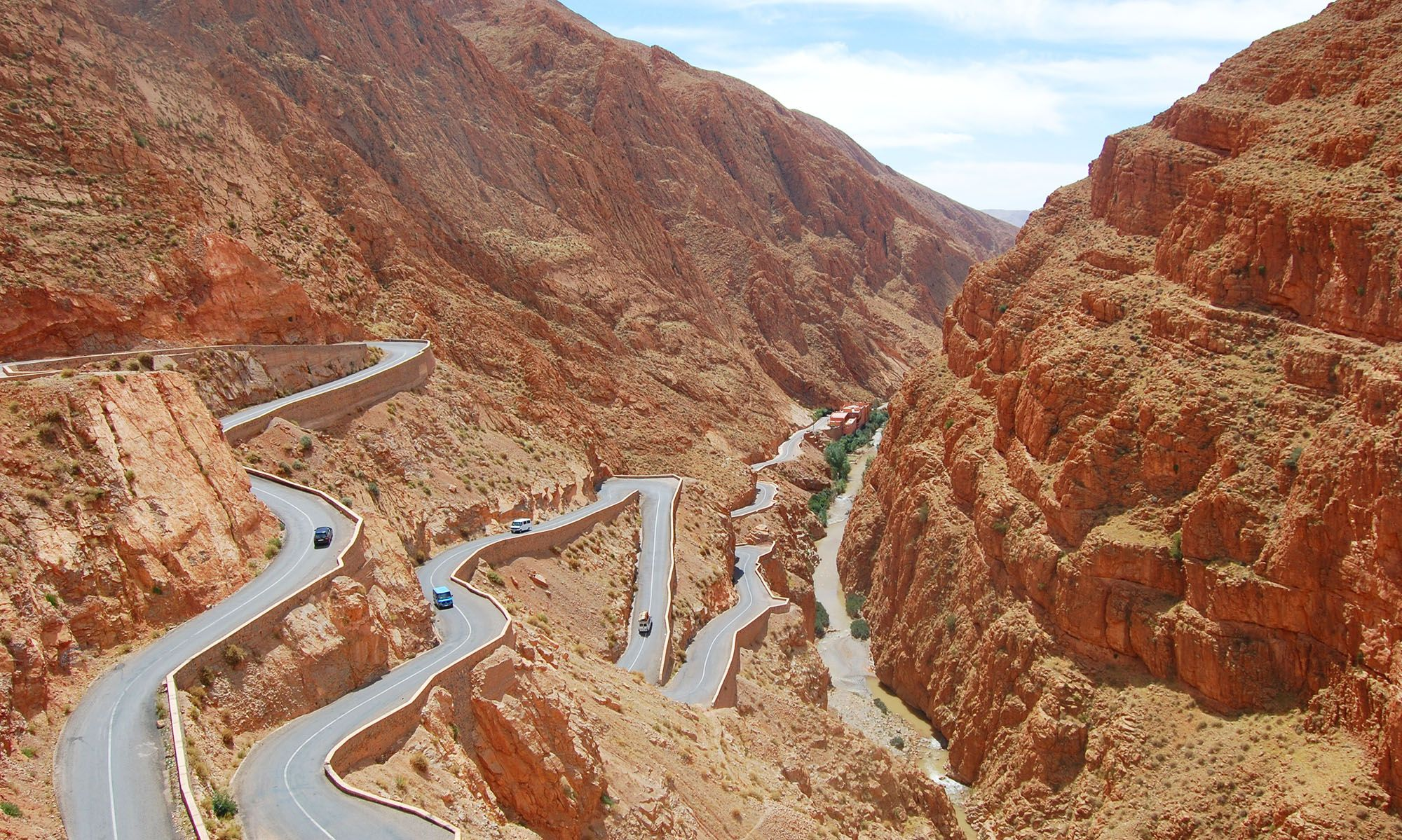 Marokko Dades Vallei