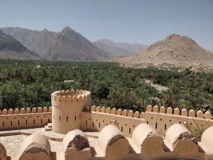Nakhal Fort Uitzicht