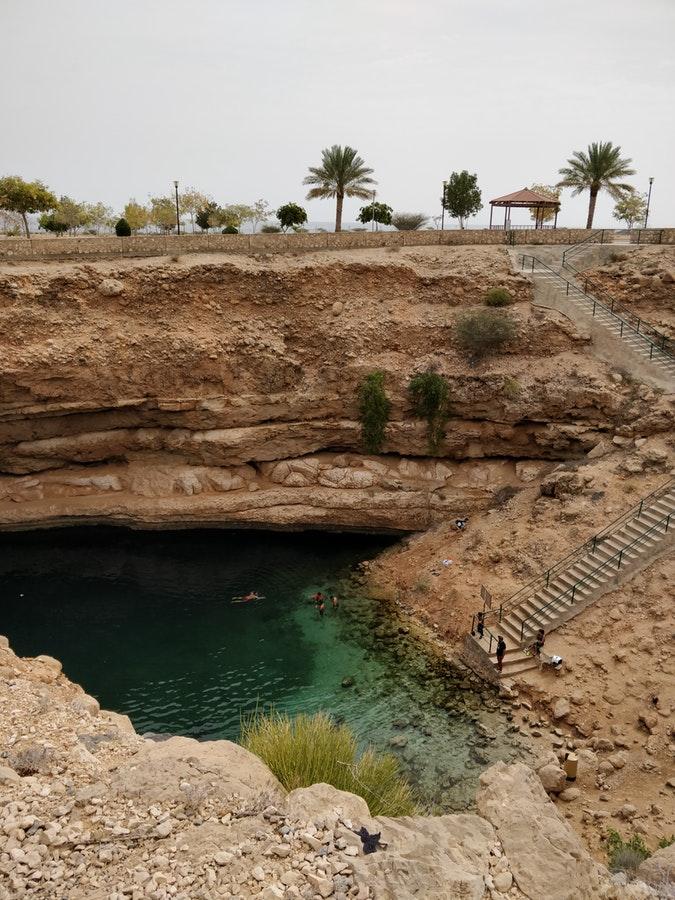Oman Bimmah Sinkhole