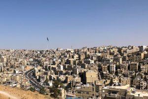 Amman Uitzicht Vanaf Citadel Hill