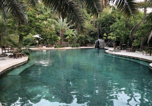 Jordanië El Himma Natuurlijk Zwembad