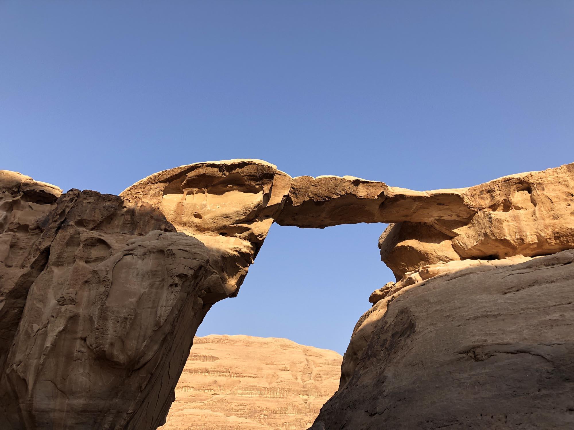Wadi Rum Woestijn Rotsbrug