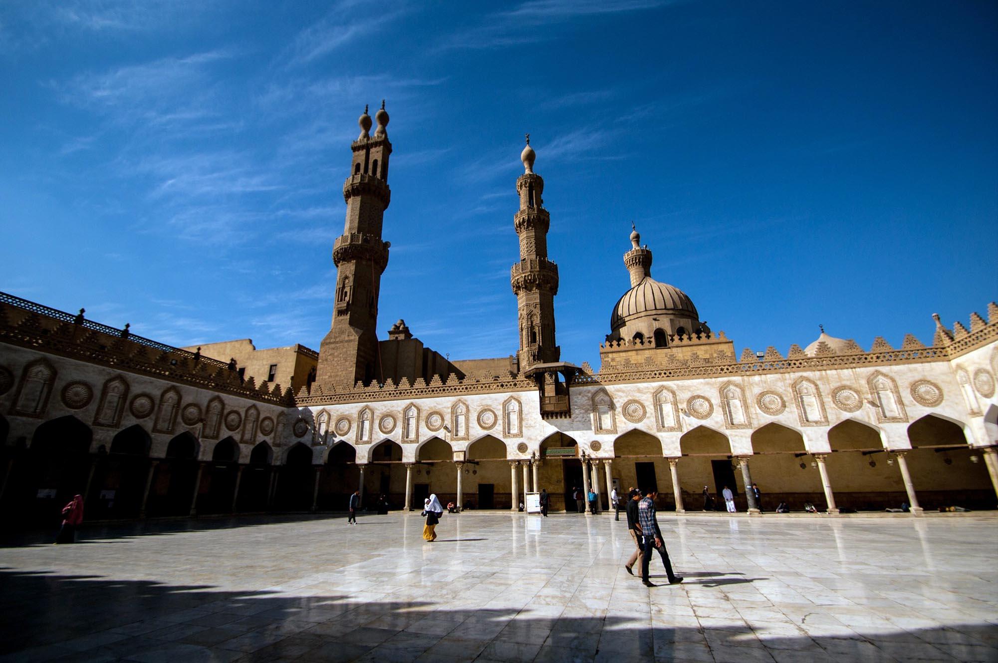 Egypte Caïro Al Azhar Moskee