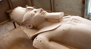Egypte Caïro Beeld Van Ramses