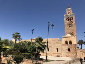 Marrakech La Koutoubia Moskee