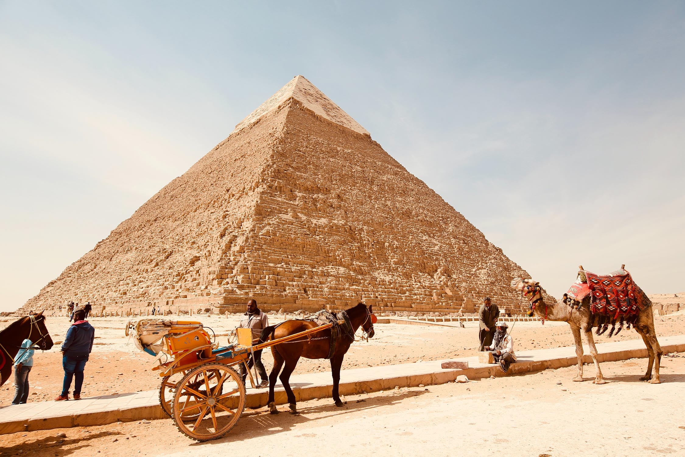Piramide In Gizeh Egypte